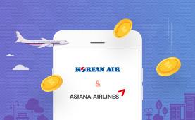 대한항공&아시아나항공 <br/> 마일리지 100% 활용 TIP!