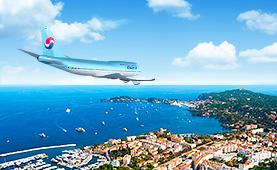 2019 한진관광<br>대한항공 유럽 직항 전세기