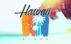 지상 최대의 파라다이스<br>하와이